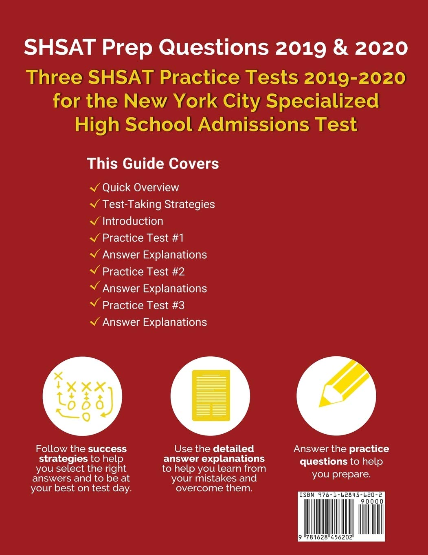 Shsat Practice Test Pdf 2019