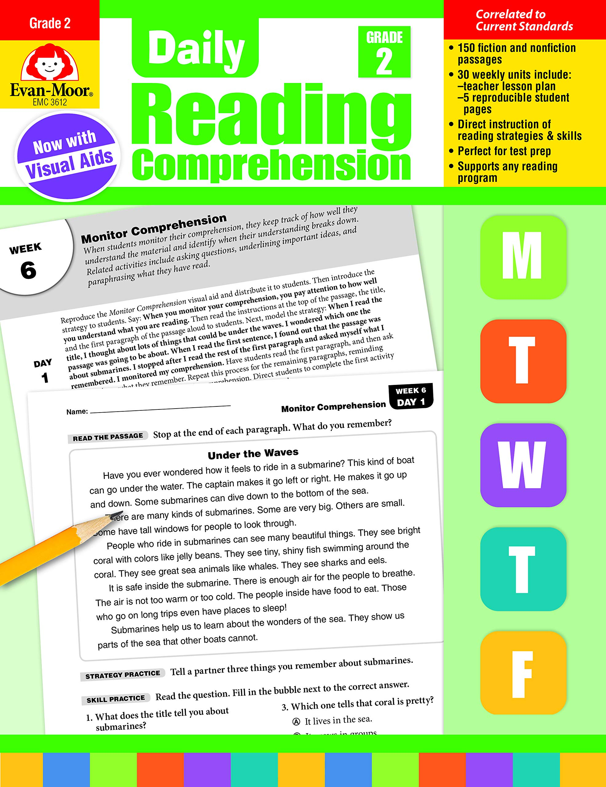 2nd Grade Daily Reading Comprehension Grade 1 Pdf