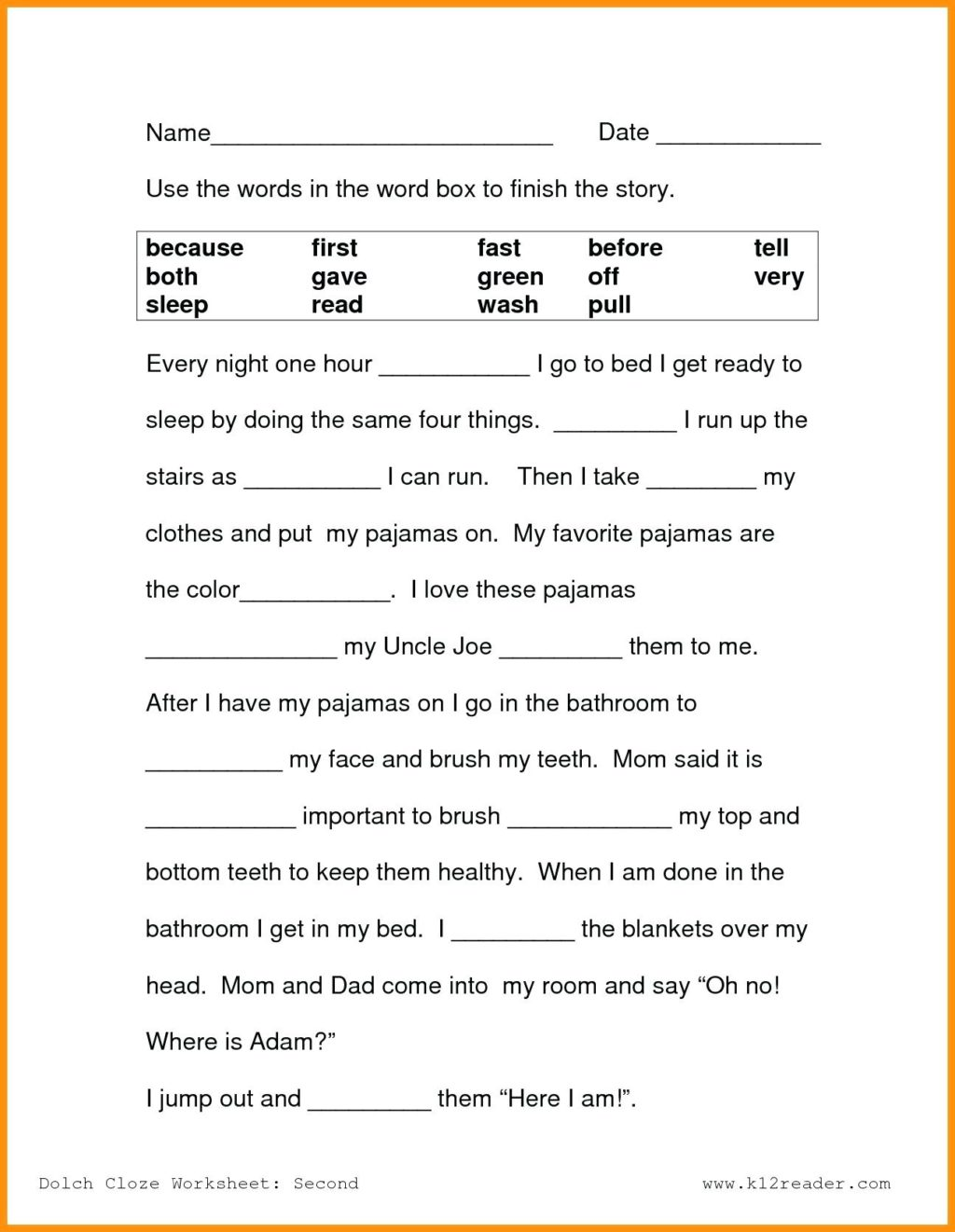 6th Grade Reading Comprehension Pdf Free