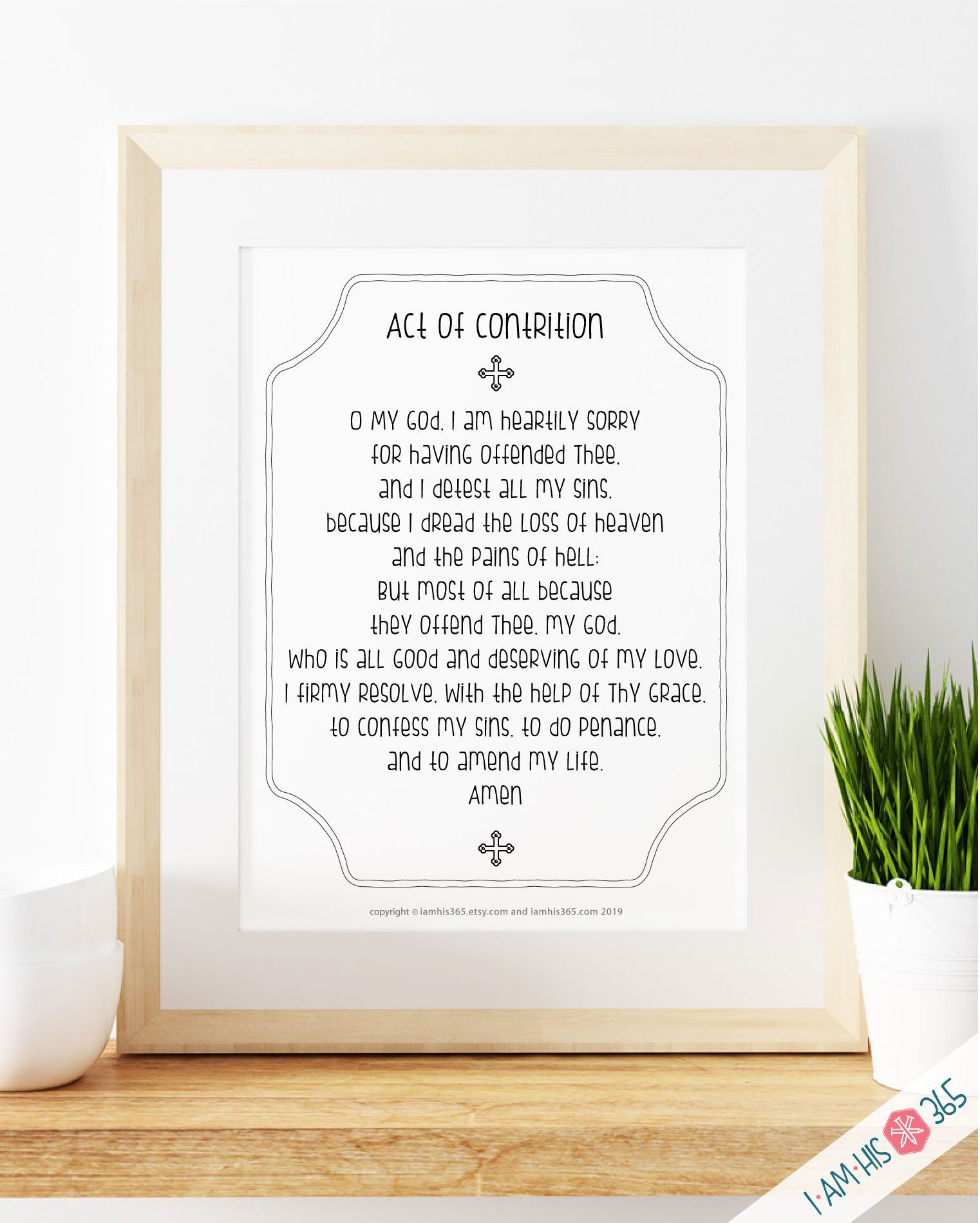 Act Of Contrition Prayer Pdf