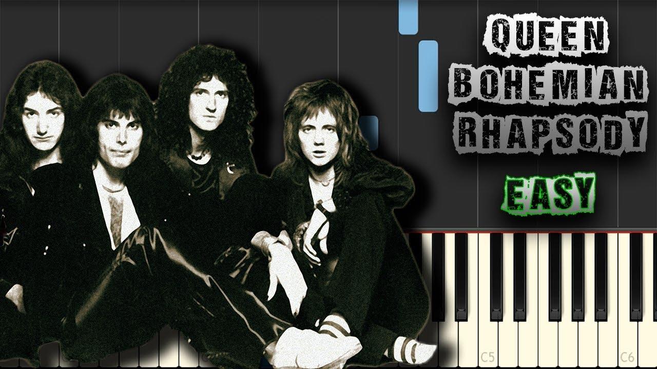 Bohemian Rhapsody Piano Pdf Easy