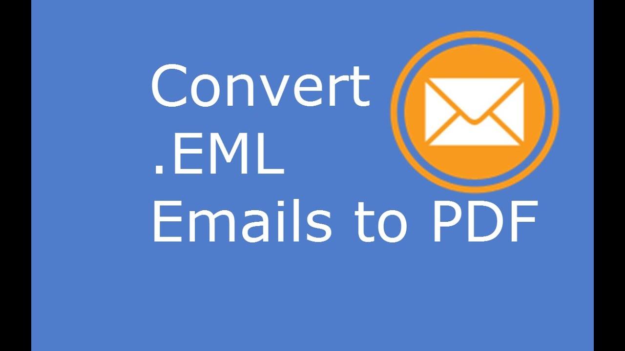 Convert Eml To Pdf Free