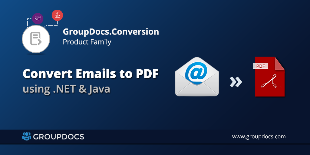 Convert Eml To Pdf Java