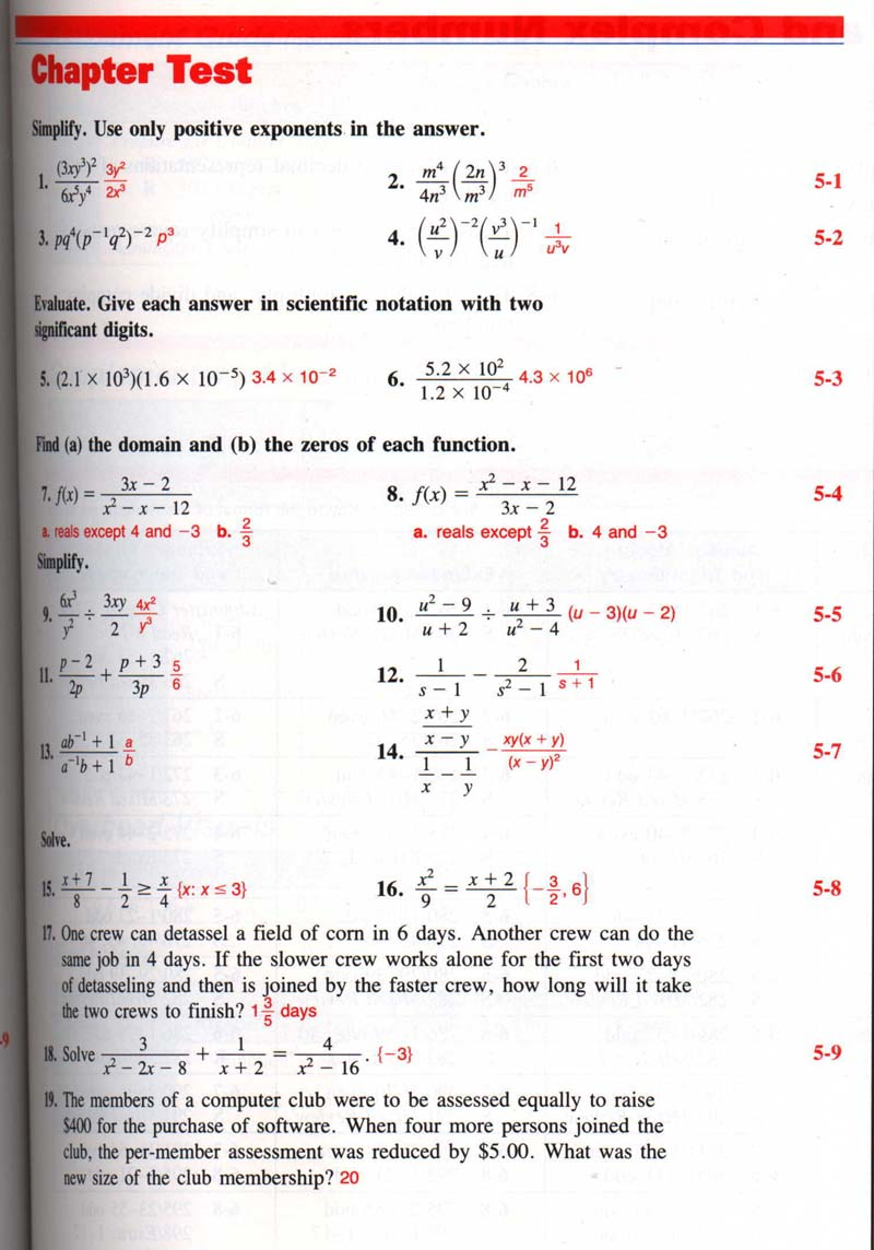 Core Connections Algebra 2 Answers Pdf