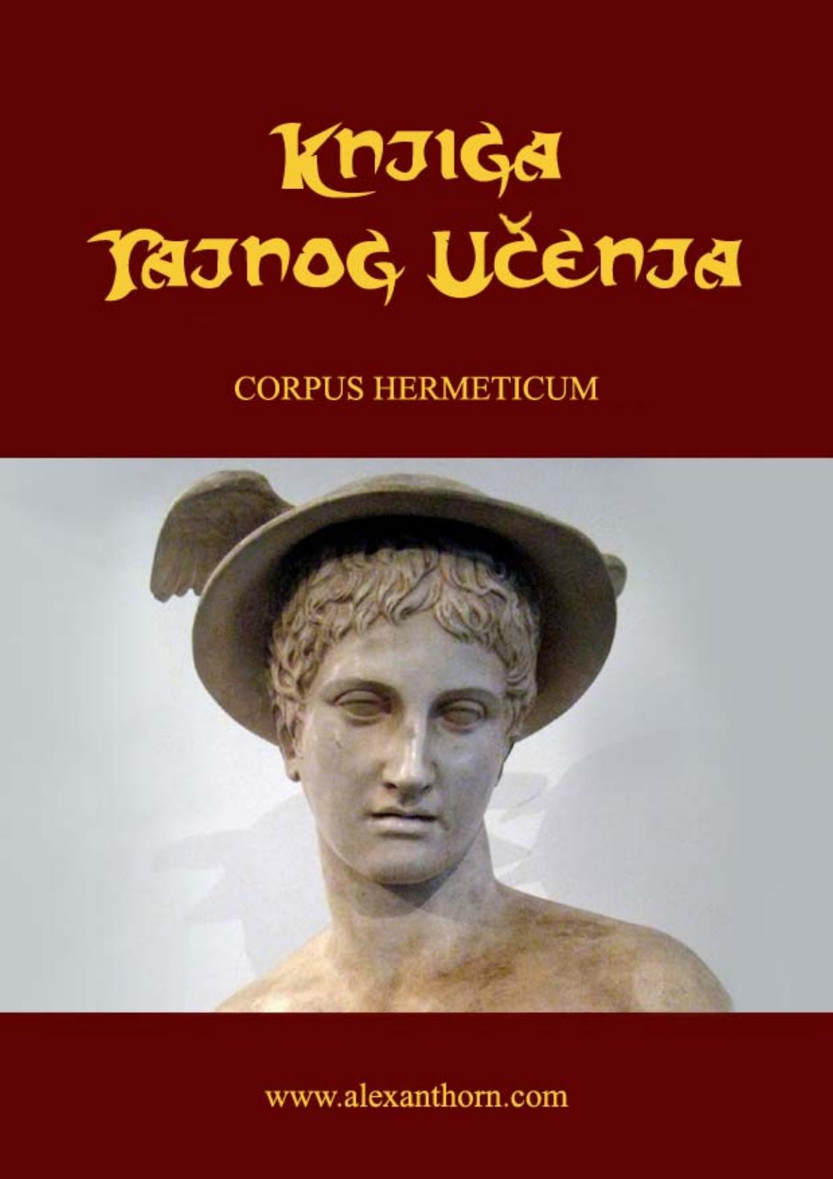 Corpus Hermeticum Pdf Srpski