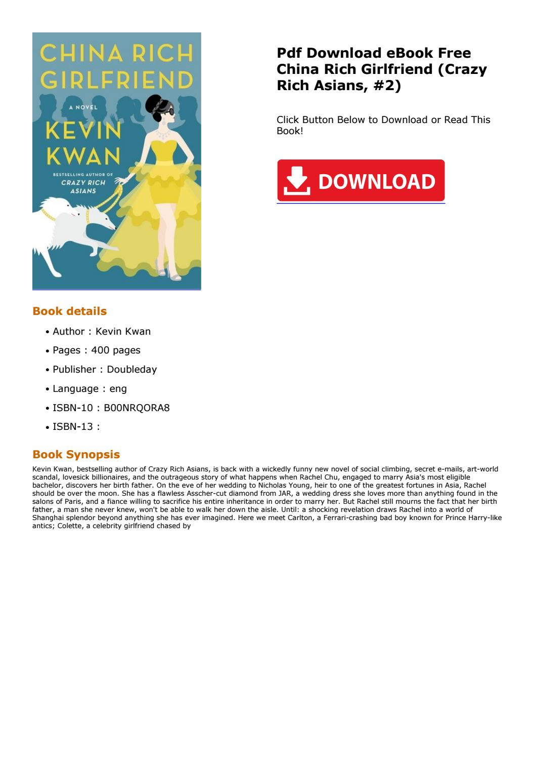 Crazy Rich Asians Pdf Free