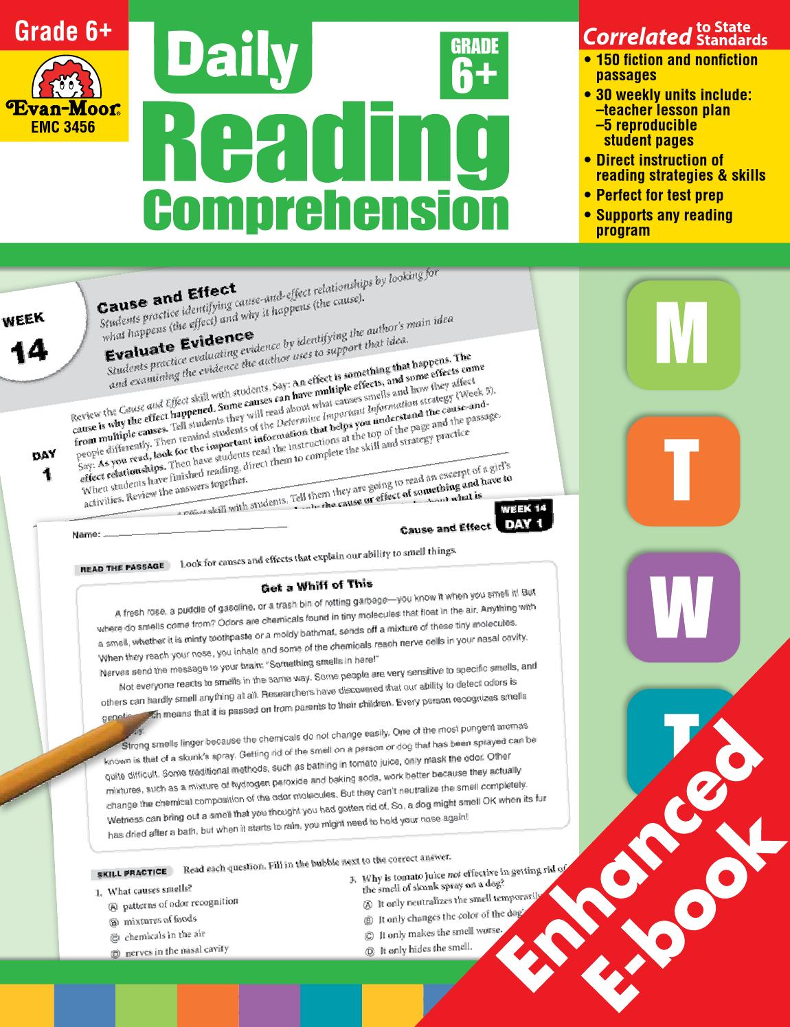 Daily Reading Comprehension Grade 6 Pdf Download