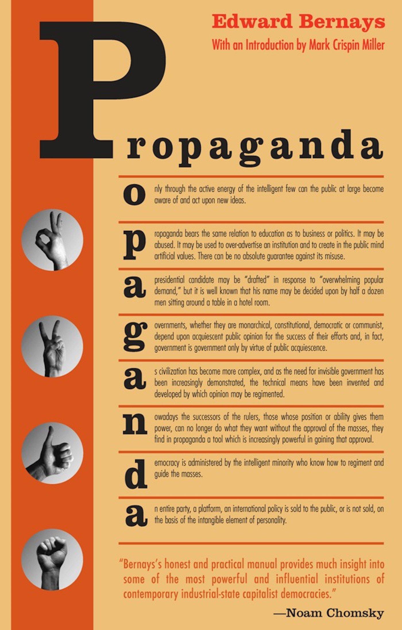 Edward Bernays Propaganda Pdf Free
