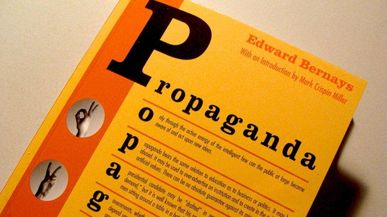 Edward Bernays Propaganda Pdf Italiano
