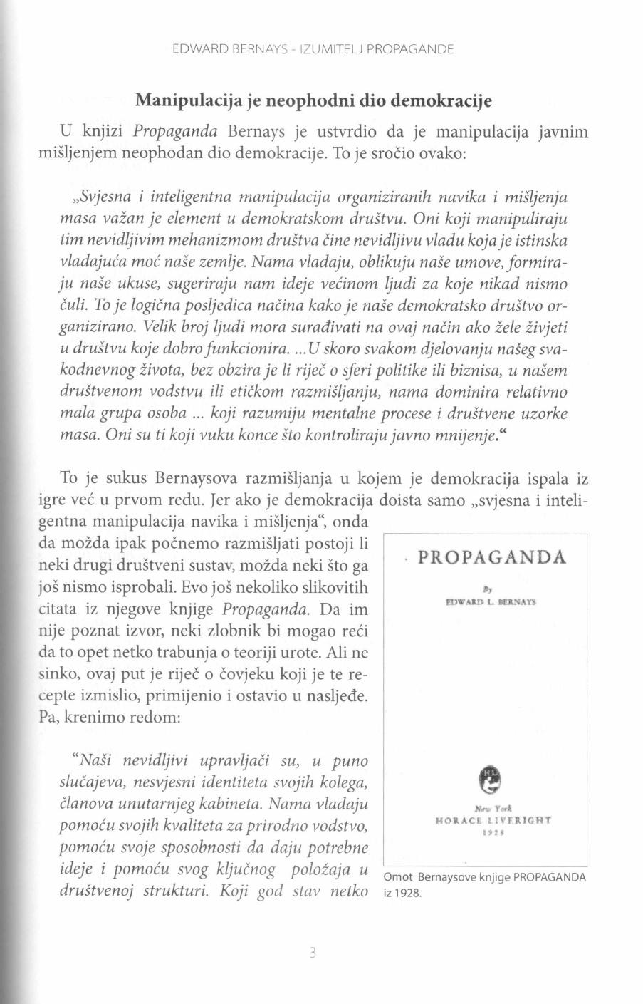 Edward Bernays Propaganda Pdf Knjiga