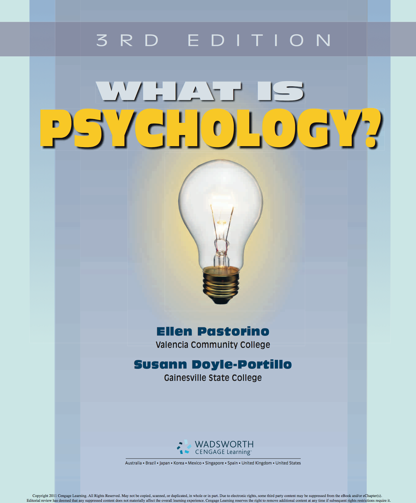 Experience Psychology 3rd Edition Pdf
