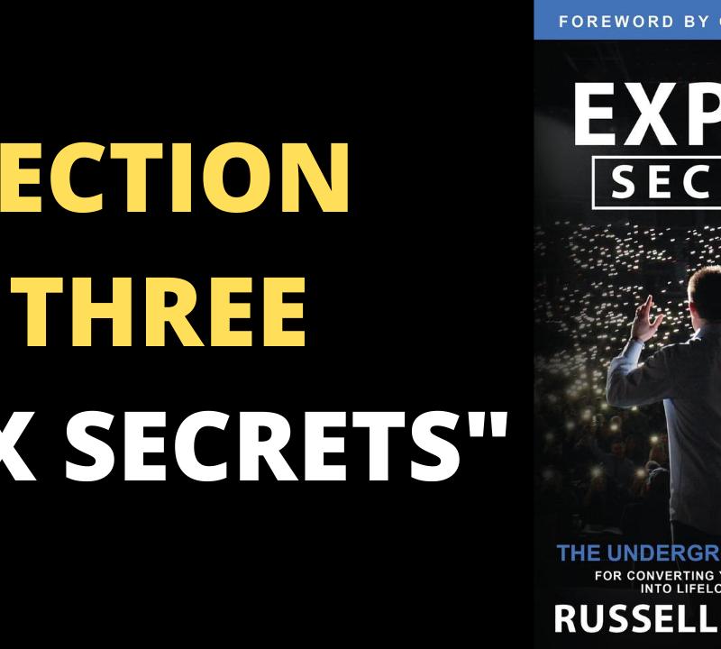 Expert Secrets Pdf Russell Brunson