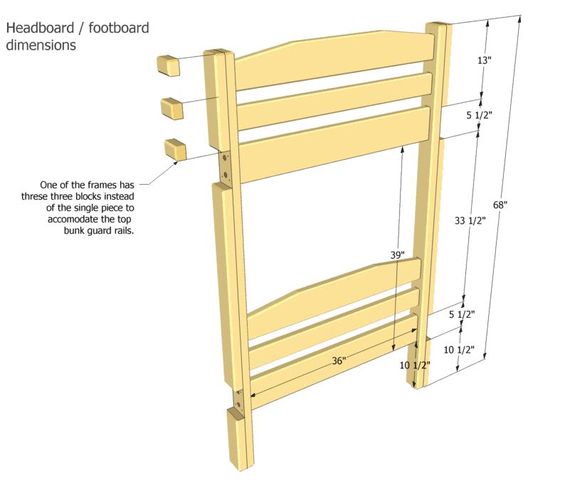 Free Bunk Bed Plans Pdf