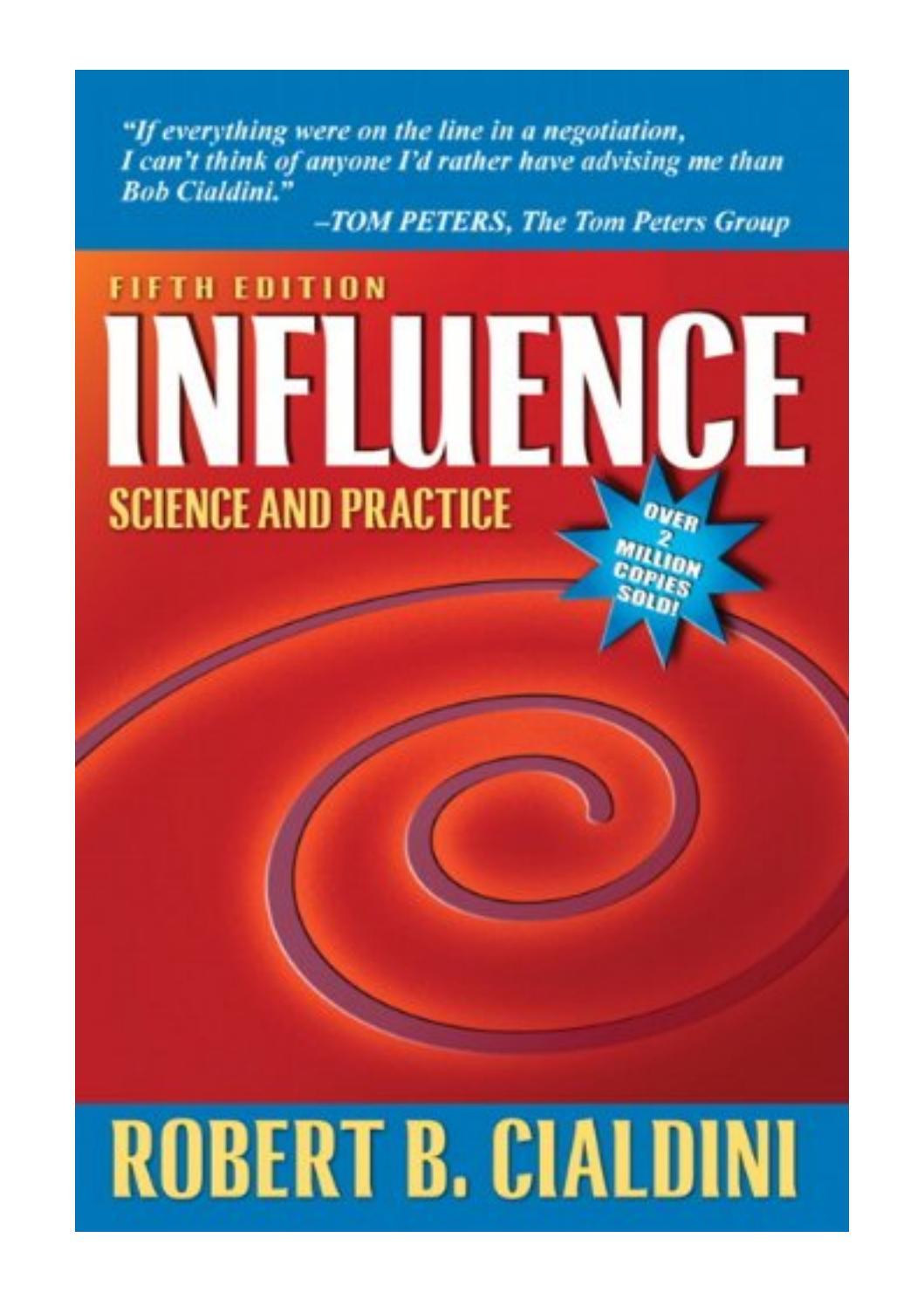 Influence Robert Cialdini Pdf