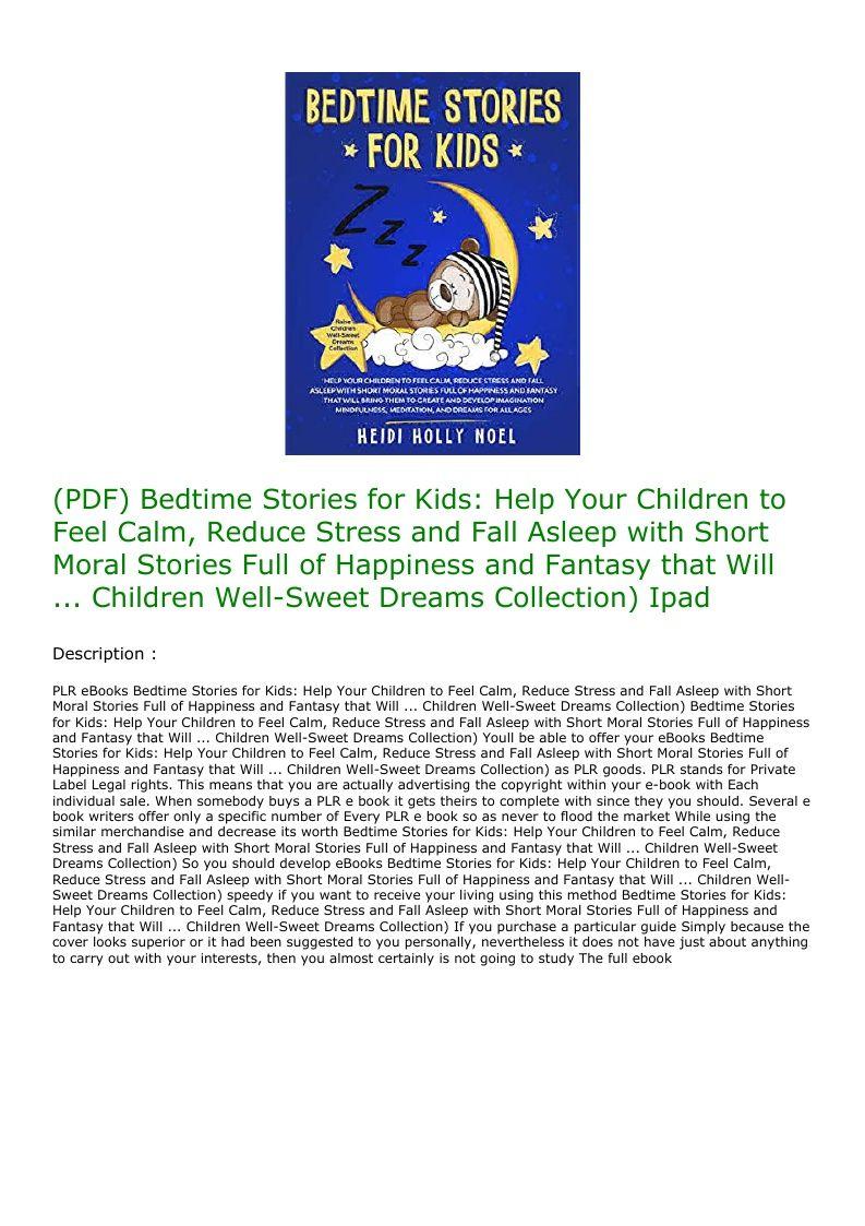 Kids Bedtime Stories Pdf