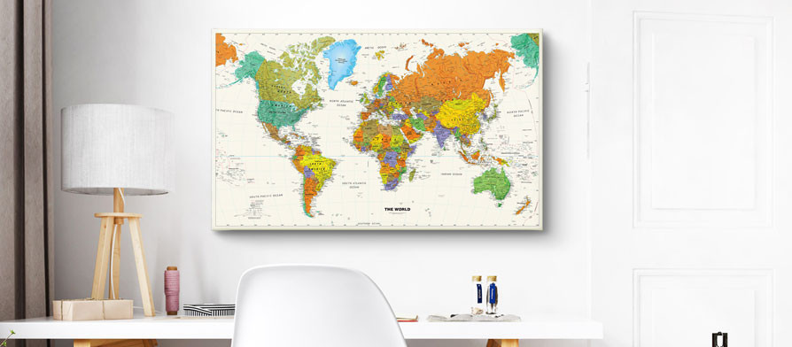 World Map Hd Pdf World Map With Free Pins