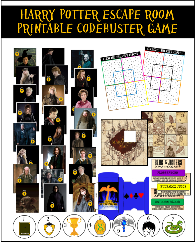 Printout Free Printable Escape Room Kit Pdf