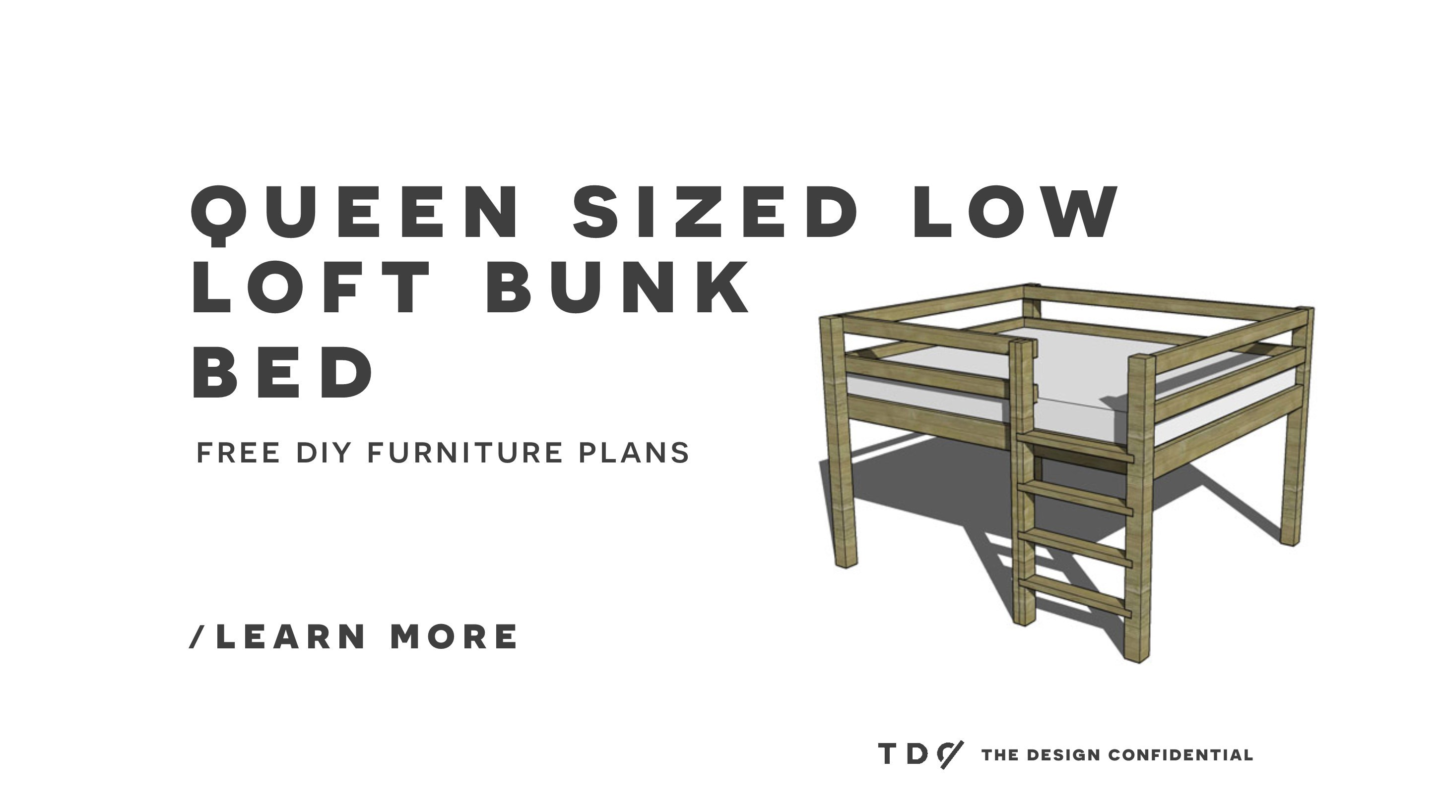 Queen Bunk Free Loft Bed Plans Pdf