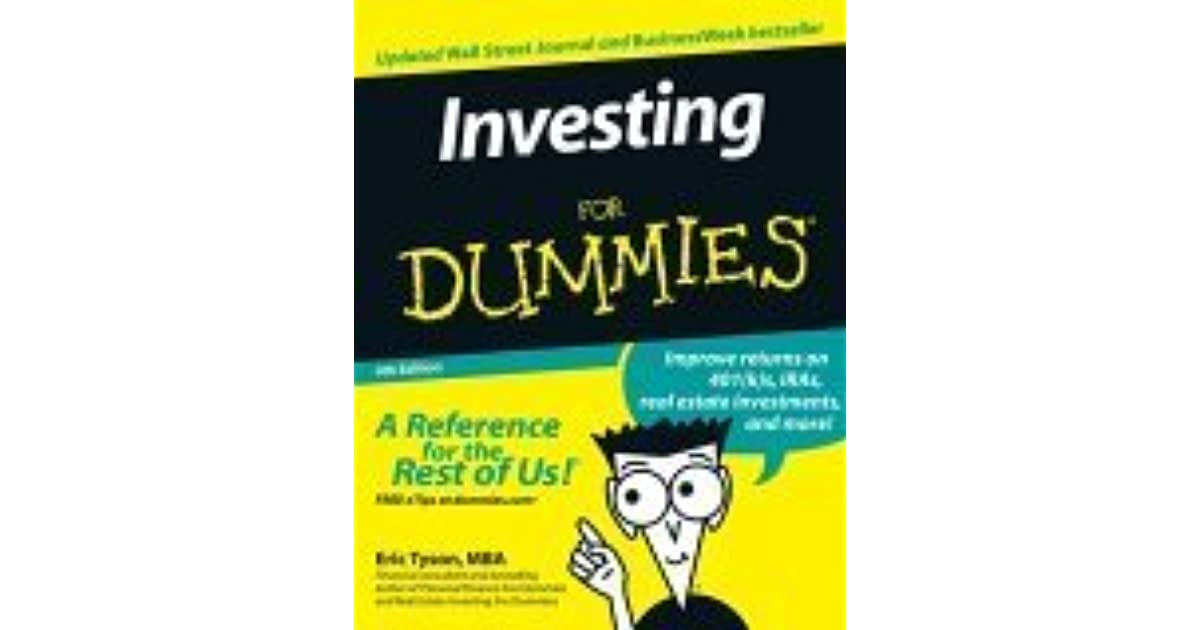 Stock Investing For Dummies 8th Edition Pdf