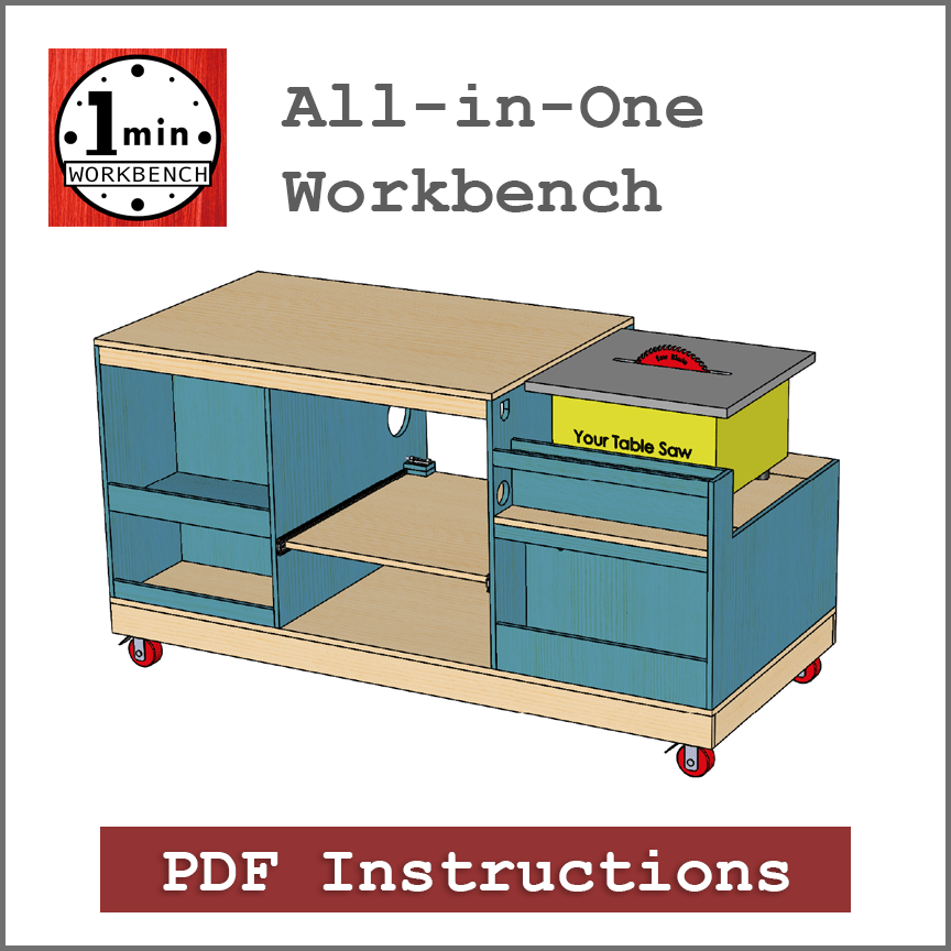 Table Saw Ultimate Workbench Plans Pdf