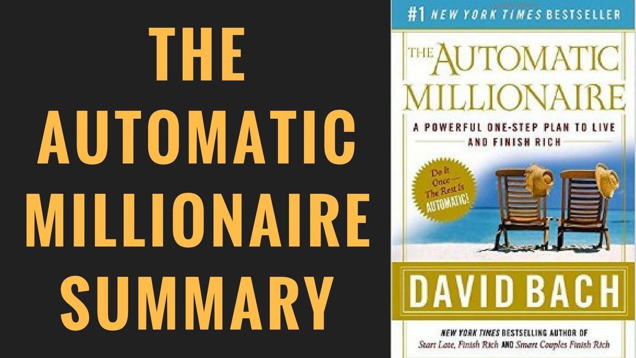 The Automatic Millionaire Pdf Book