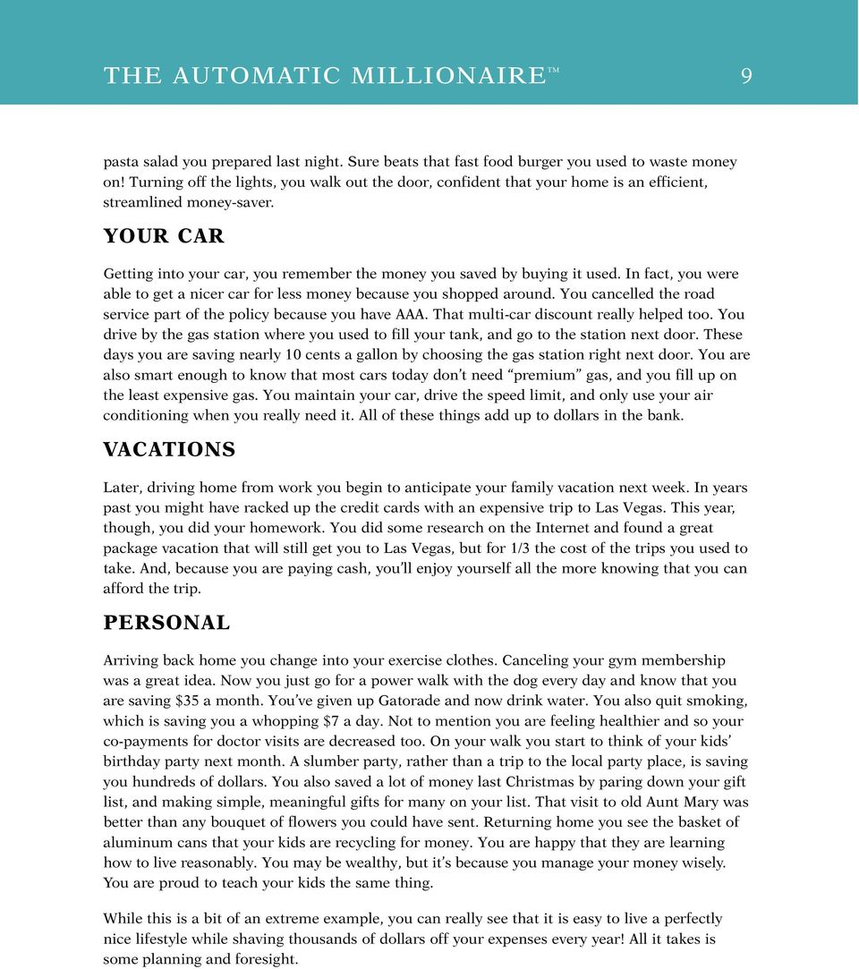 The Automatic Millionaire Pdf Download