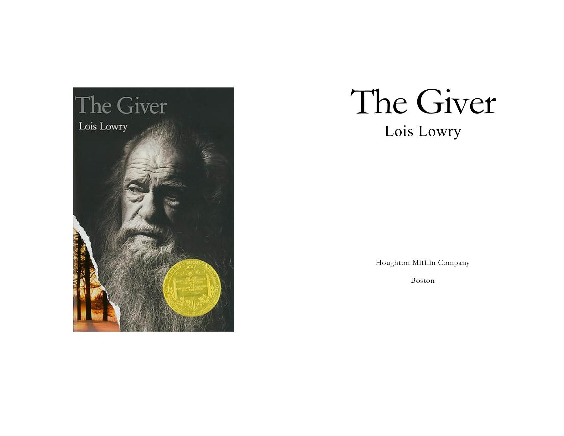 The Giver Book Pdf Free Download