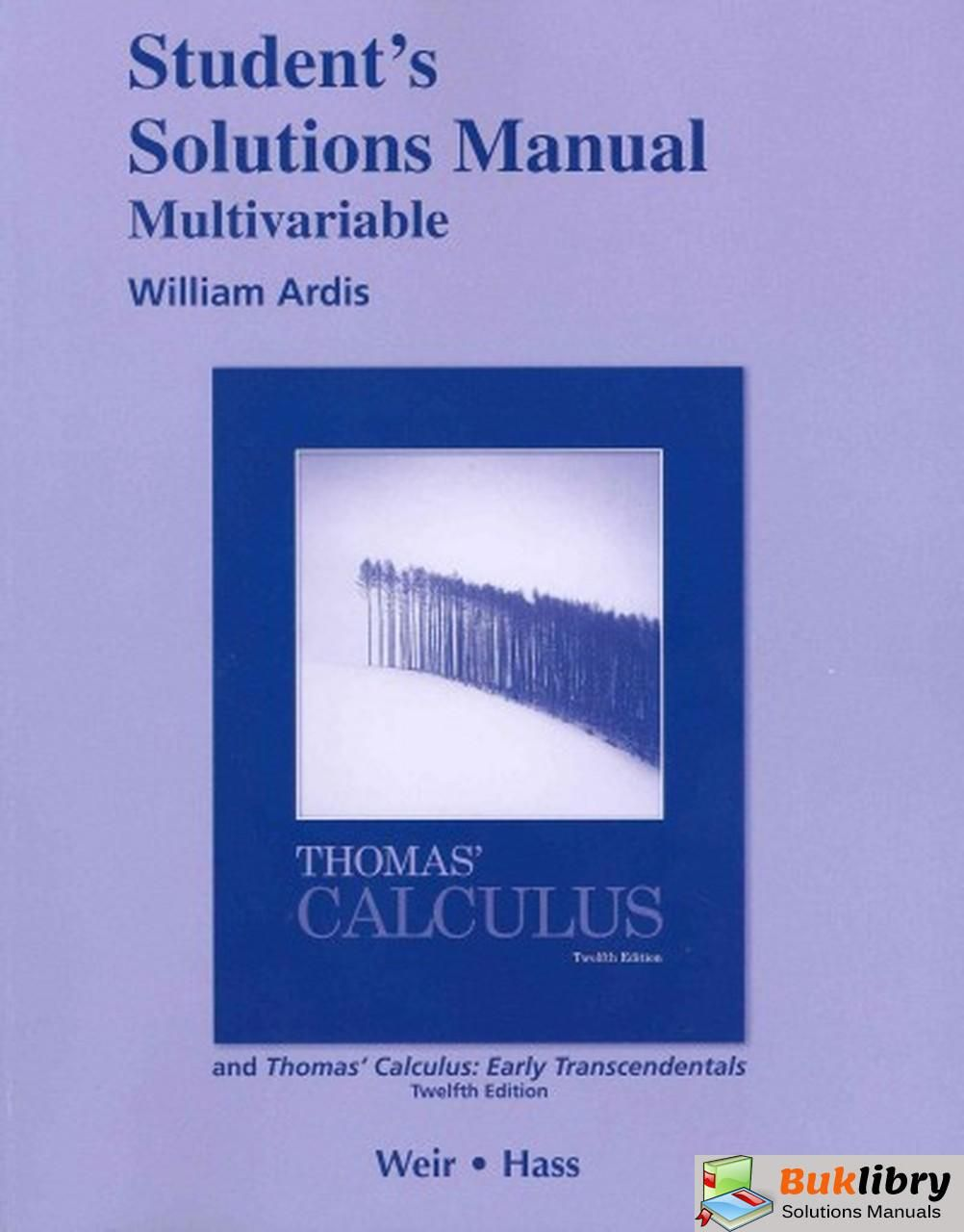 Thomas Calculus 12th Edition Pdf Reddit