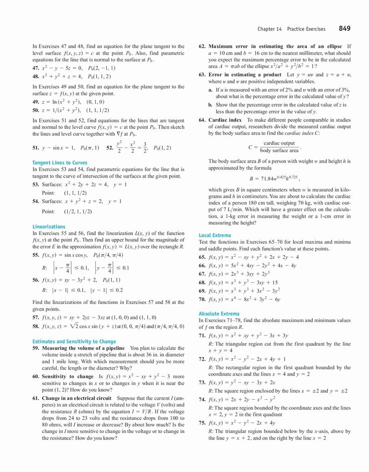 Thomas Calculus 12th Edition Pdf Textbook