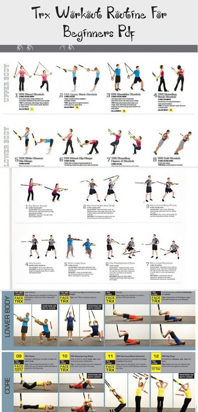 Trx Upper Body Workout Pdf