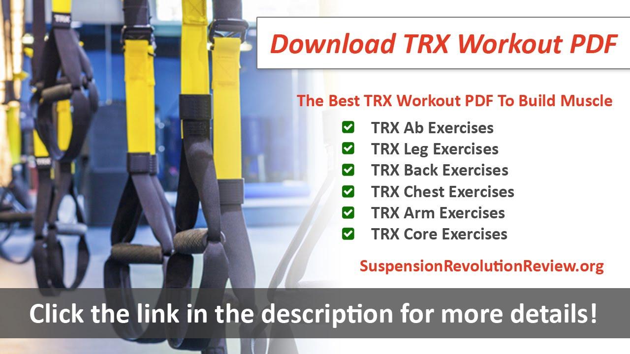 Trx Workout Routine Circuit Pdf