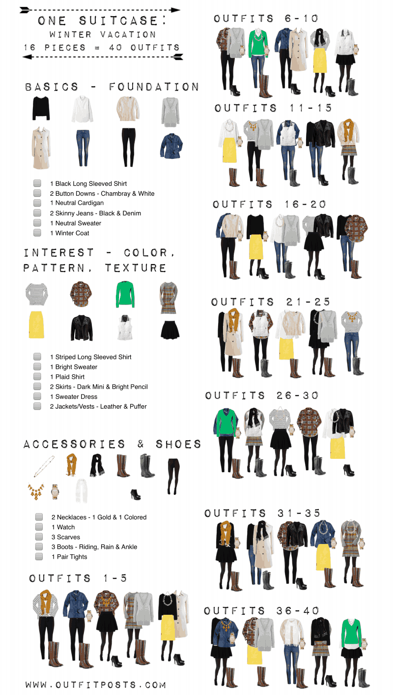 Winter Travel Checklist Pdf