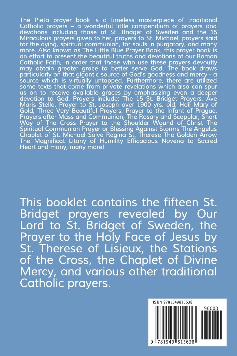 15 Prayers Of St Bridget Pieta Pdf In Malayalam