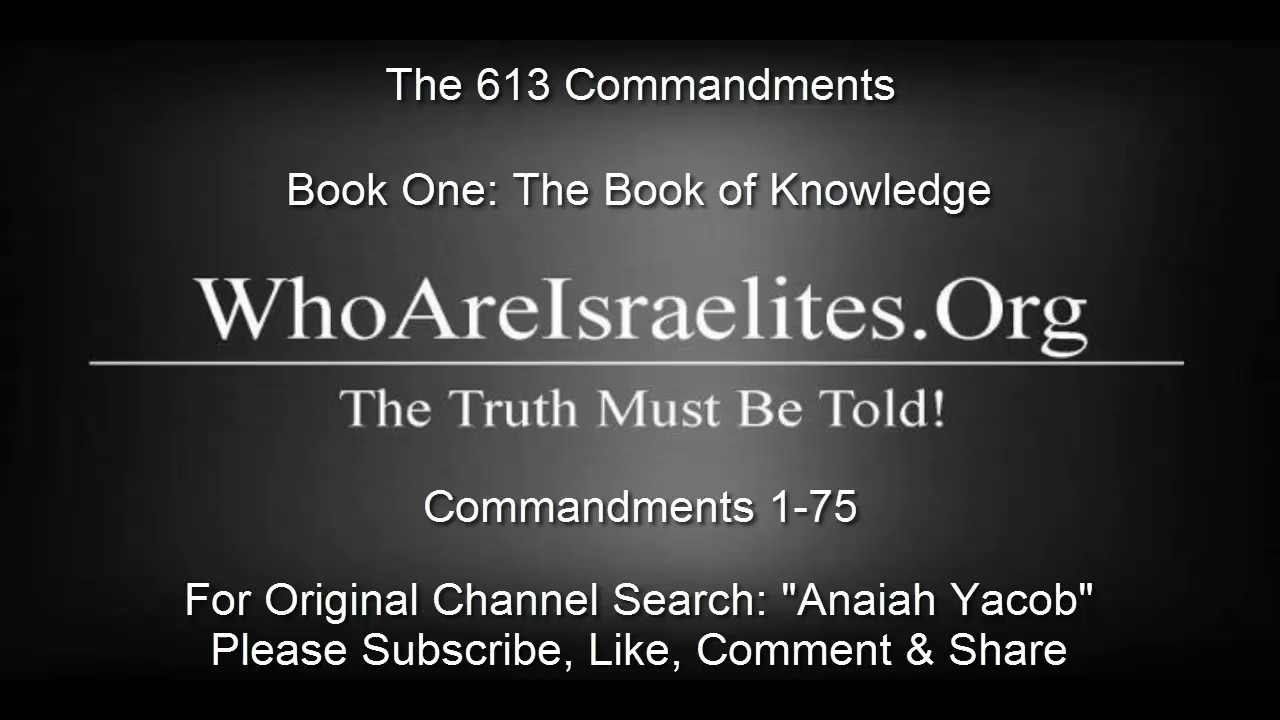 613 Commandments Pdf