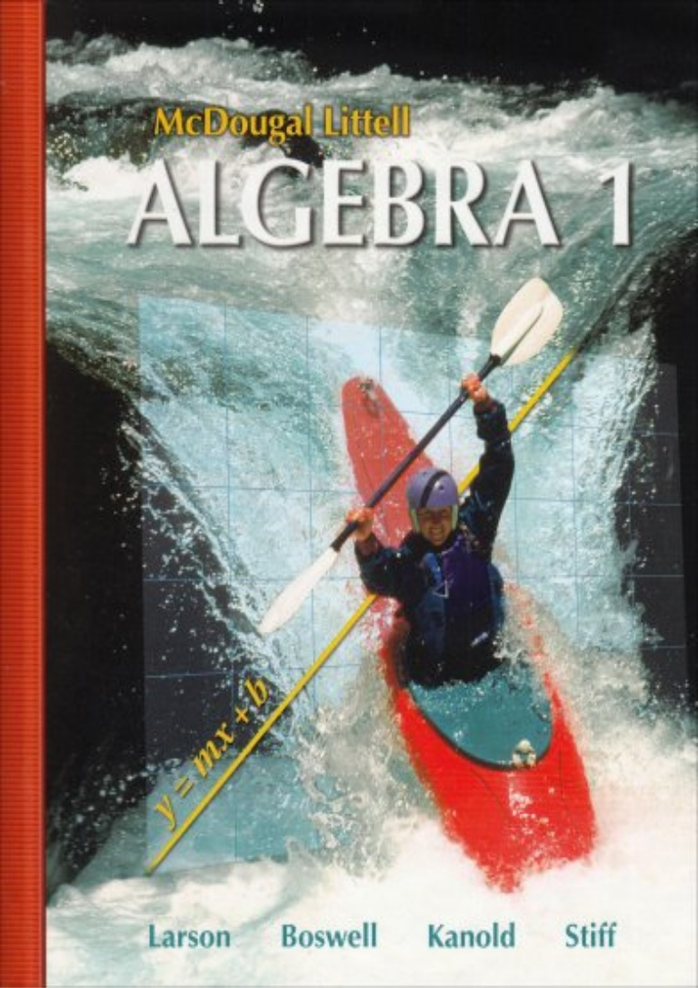 Algebra 1 Textbook Pdf Mcdougal Littell