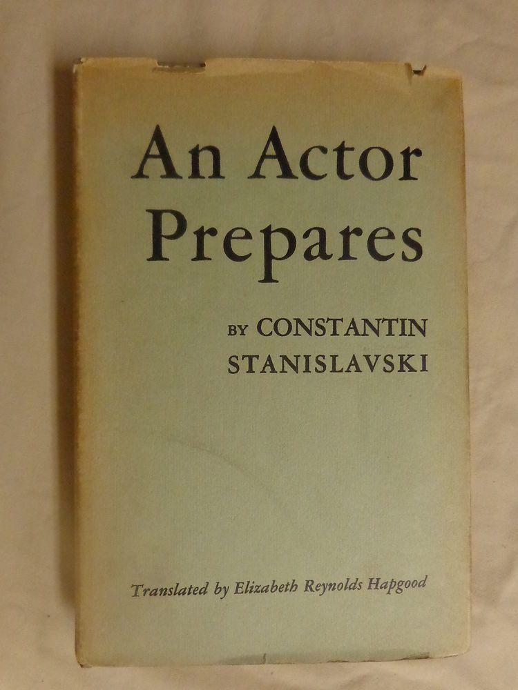 An Actor Prepares Pdf Stanislavski