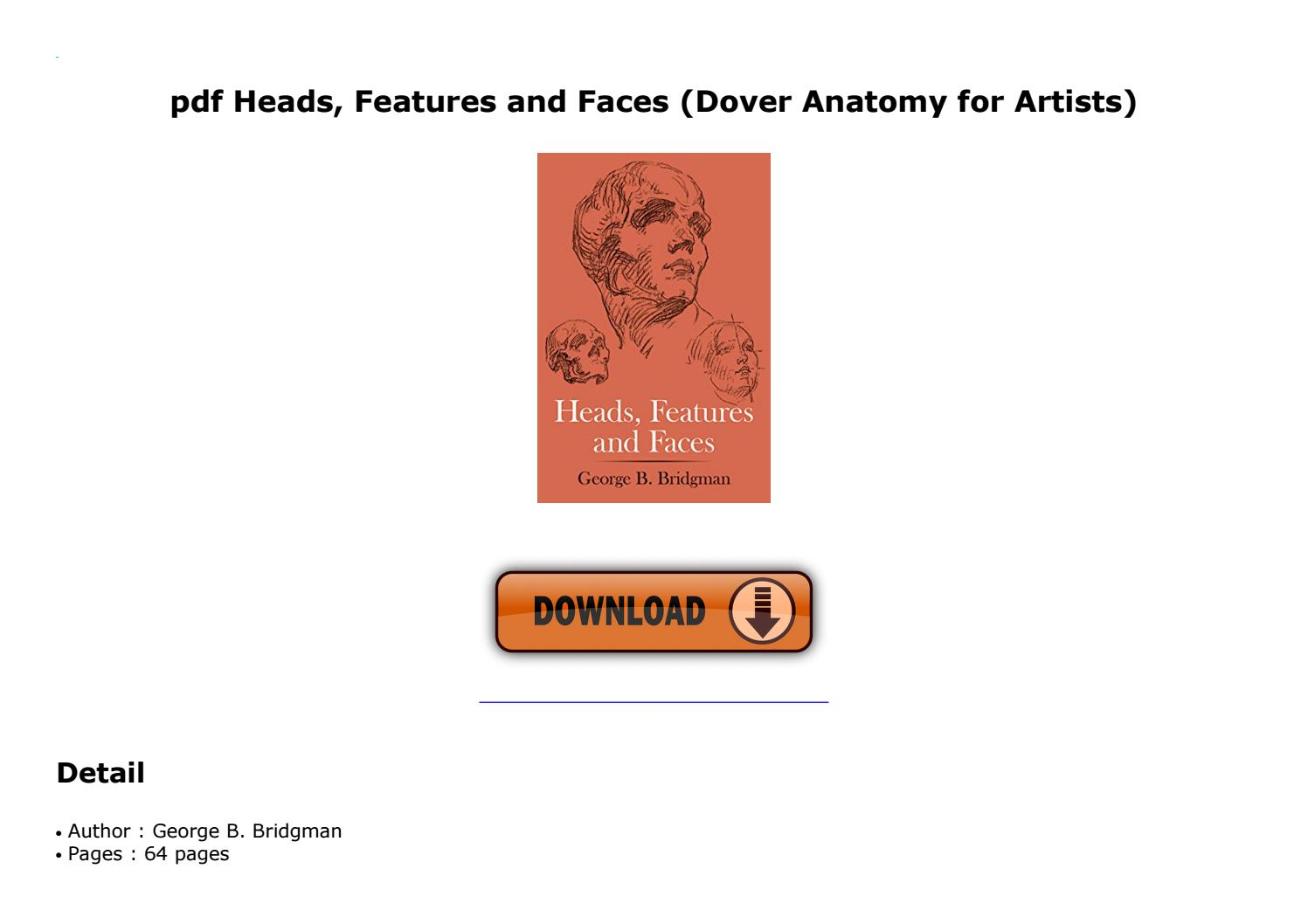 Anatomy For Artists Pdf
