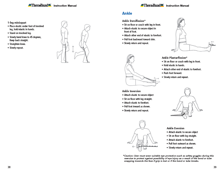 Ankle Theraband Exercises Pdf