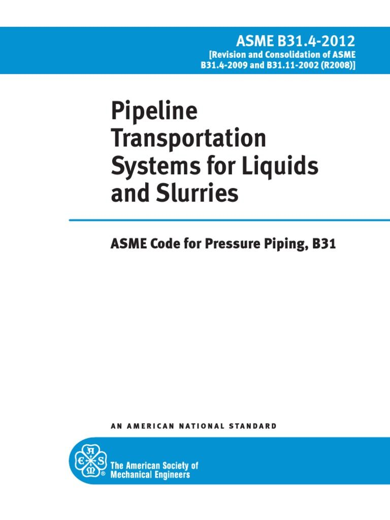 Asme B31 3 Pdf 2012 Free Download