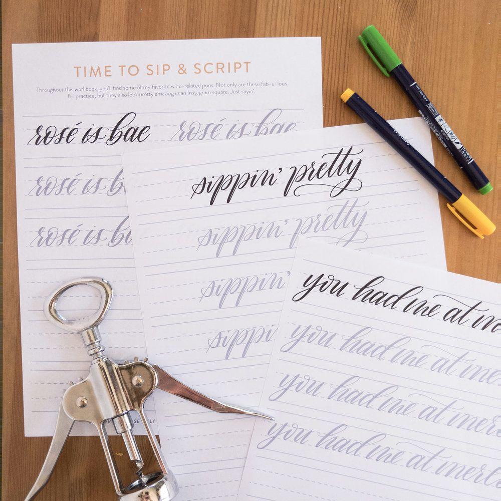 Calligraphy Workbook Pdf
