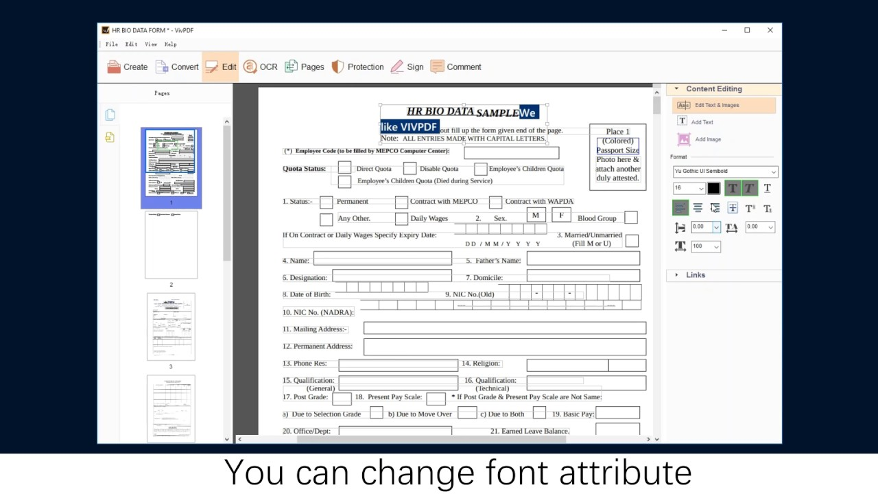 Change Text Color In Pdf Editor