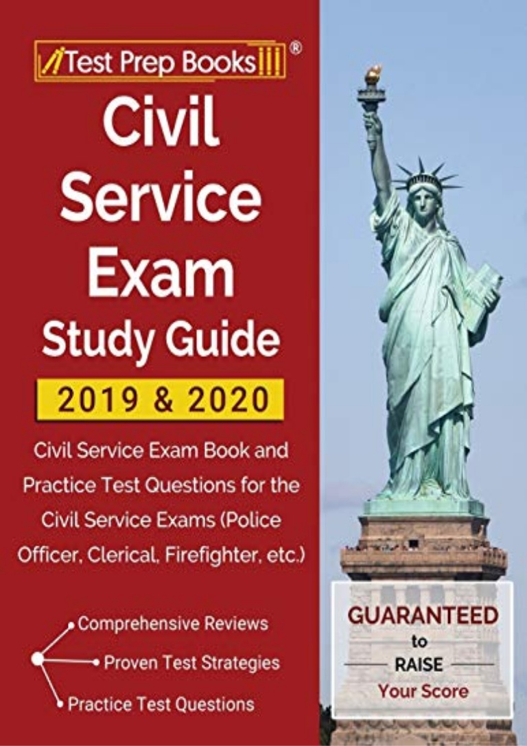 Civil Service Exam Study Guide Pdf