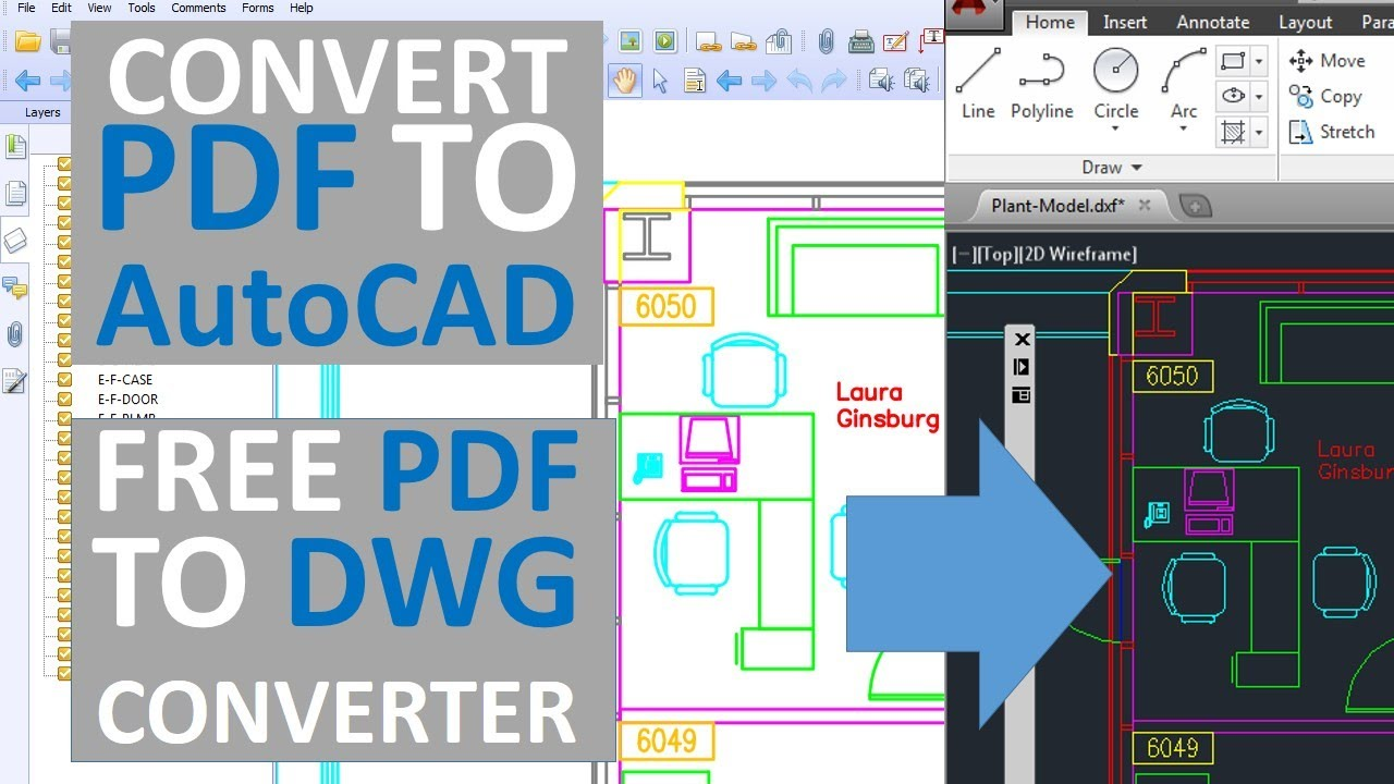 Convert Pdf To Dwg Autocad With Layers