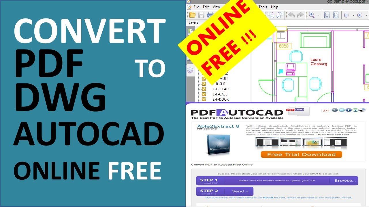Convert Pdf To Dwg Autocad