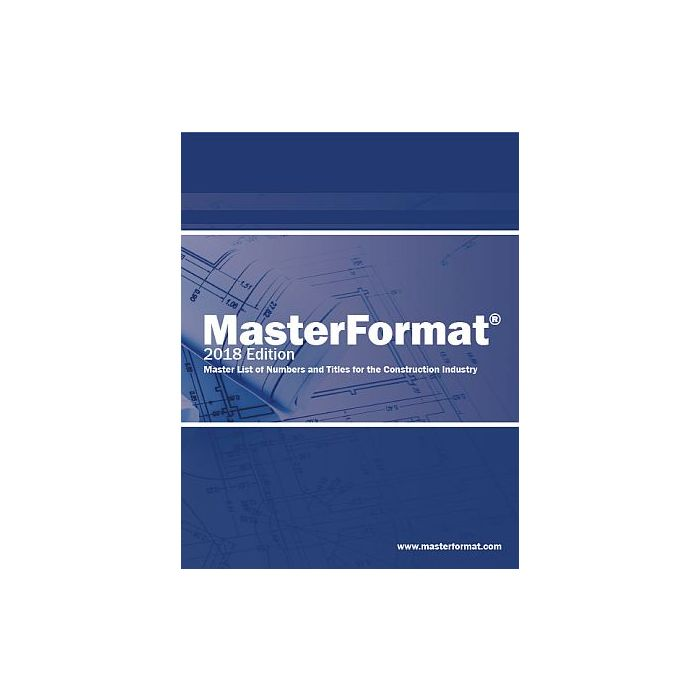 Csi Masterformat 2018 Pdf Download