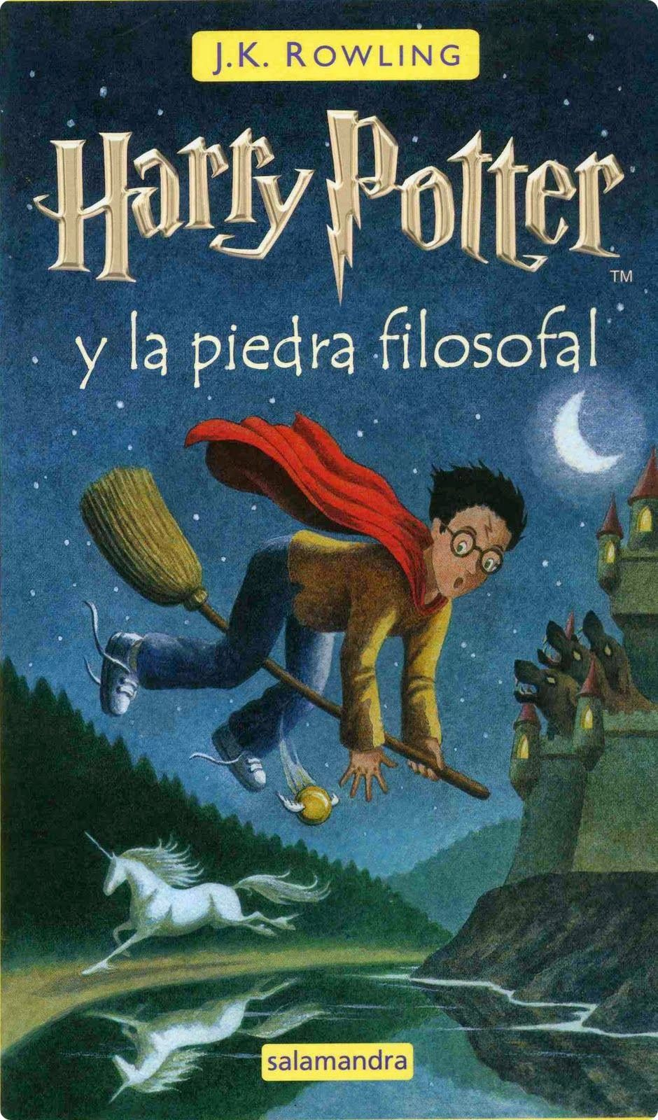 Harry Potter Y La Piedra Filosofal Libro Pdf Gratis