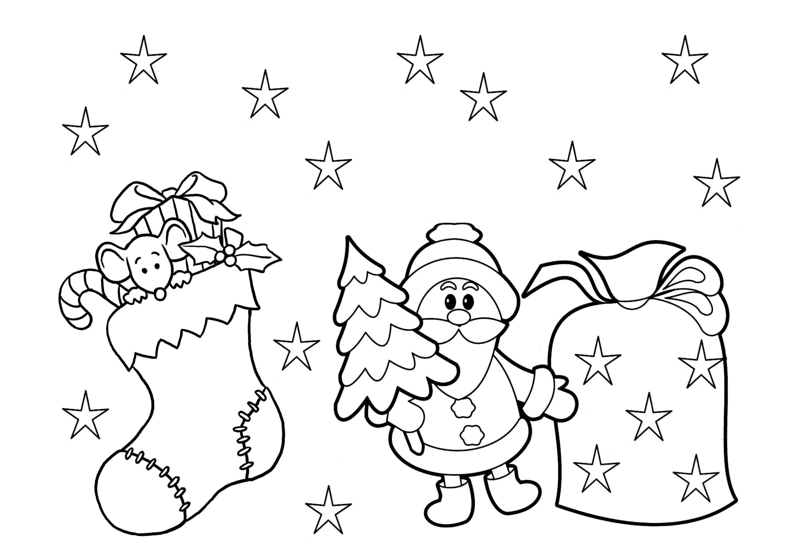 Holiday Coloring Christmas Coloring Pages For Adults Pdf