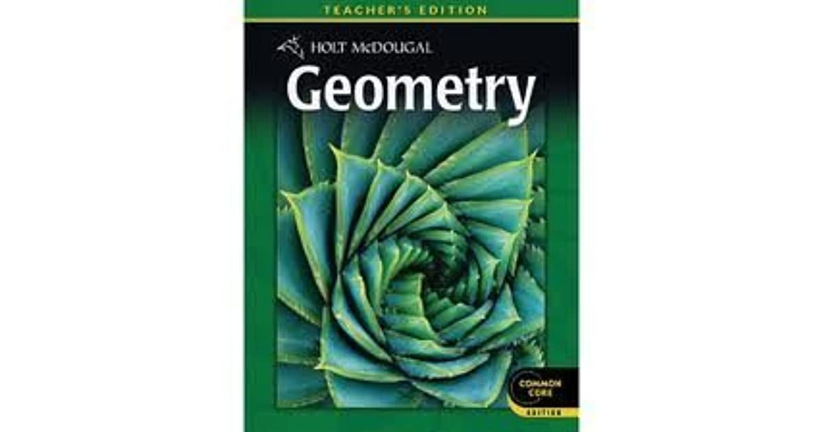 Holt Geometry Textbook Pdf