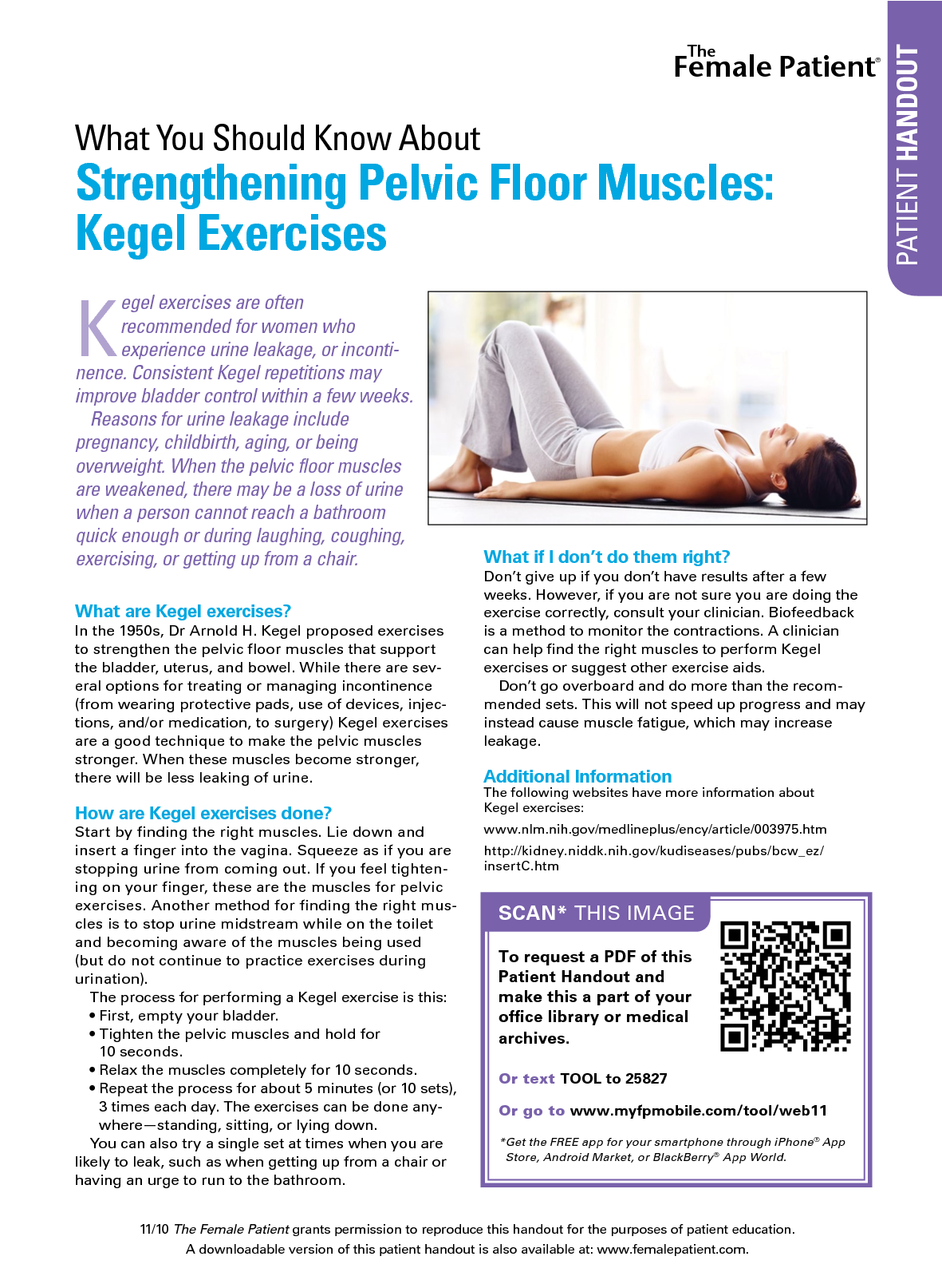 Kegel Exercises Pdf Handout