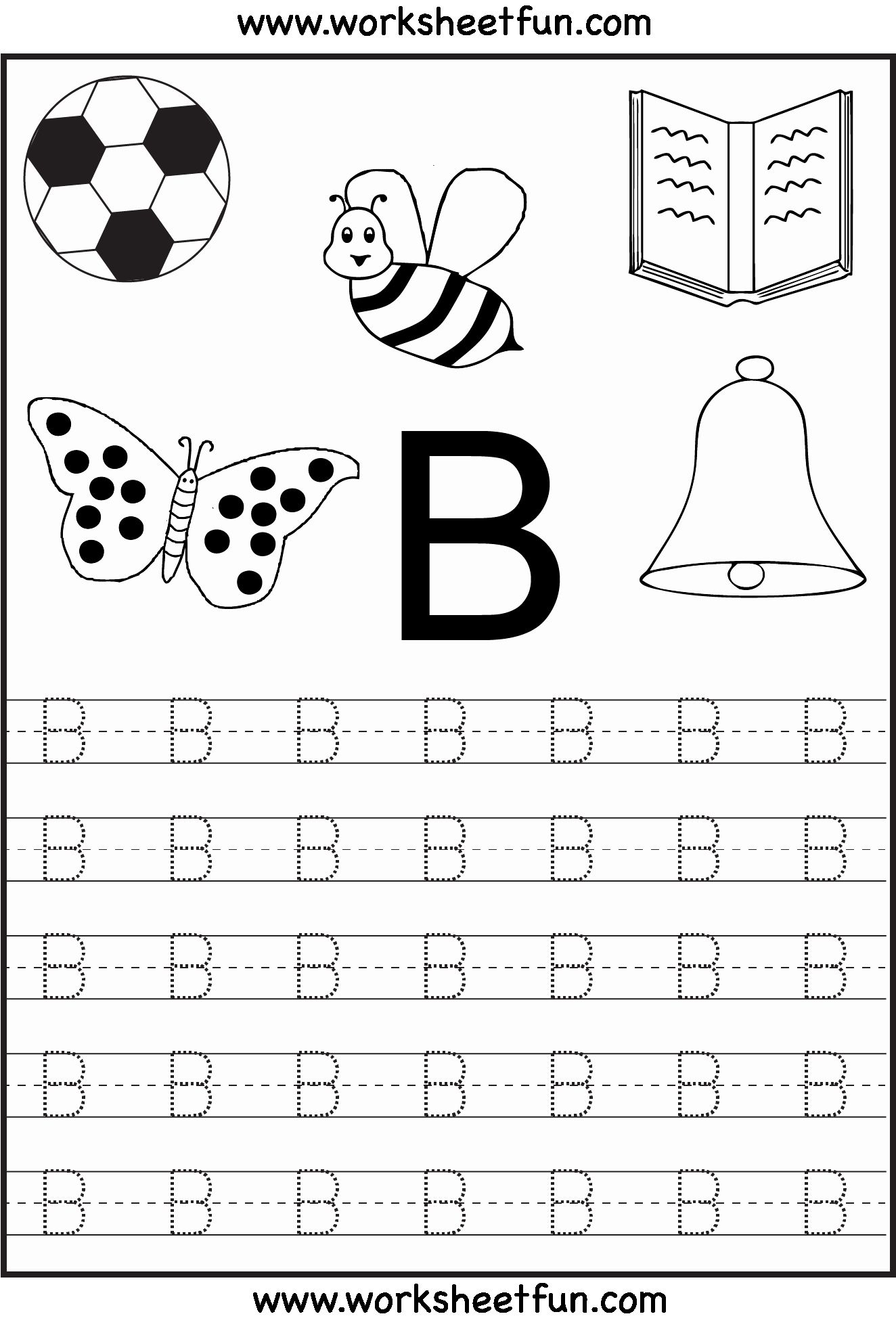 Letter Alphabet Writing Practice Worksheets Pdf